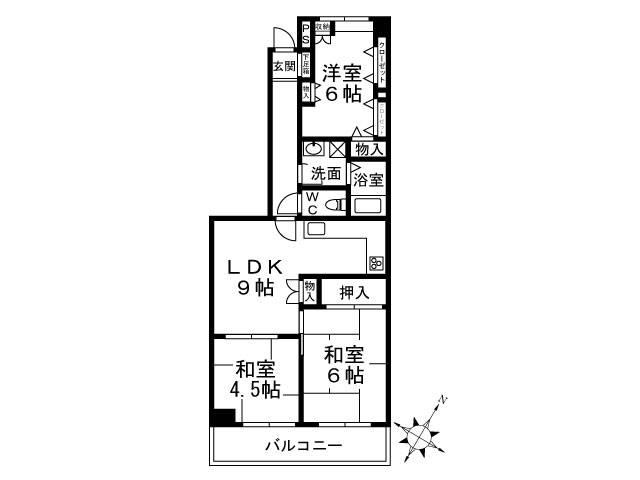 <墨田区 賃貸マンション>押上2丁目 3LDK セトル中之郷