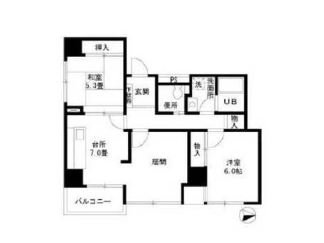 <江東区 賃貸マンション>東陽3丁目 2LDK エクセル東陽