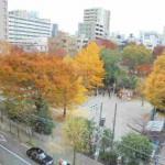 建物前には東郷元帥記念公園が有ります