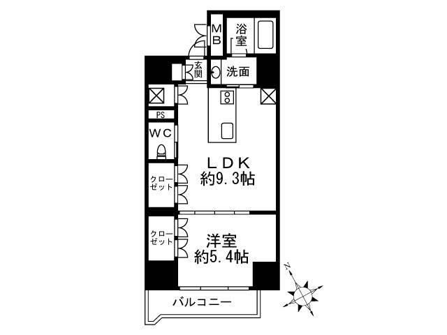 <品川区 賃貸マンション>東大井2丁目 1LDK Terrazza Est