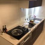 キッチンの省力化、衛生に便利な食器洗浄機を設置(キッチン)